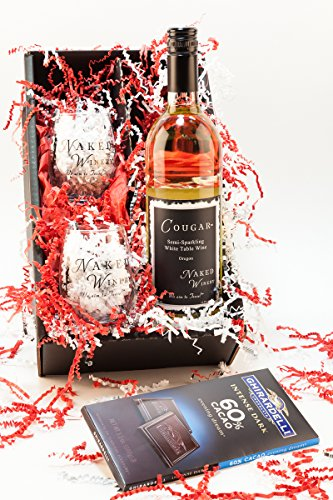 First Kiss Gift Semi-Sparkling Wine Gift Set, 1 x 750 mL