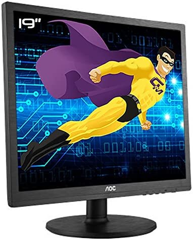 Pantalla plana PC 19 AOC e960Srda 190lm00014 LCD TFT TN VGA DVI VESA 1280 x 1024 4: 3: Amazon.es: Electrónica