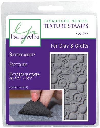 Lisa Pavelka 327017 Texture Stamp Kit Galaxy by JHB International Inc