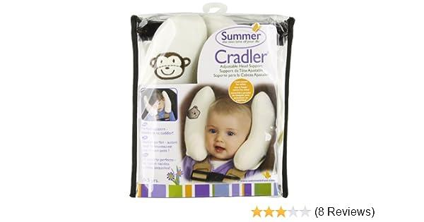 Amazon.com: Kiddopotamus Cradler Adjustable Head Support for Newborns to Toddlers: Baby