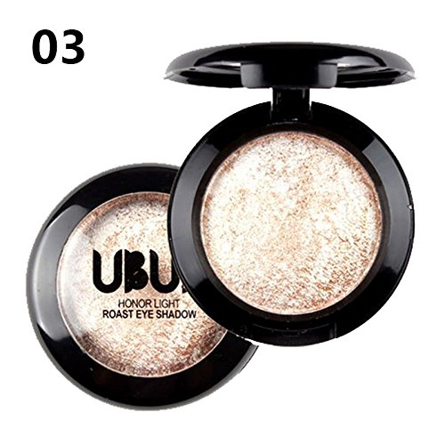 - HebeTop ✰ Single Baked Eye Shadow Powder Palette in Shimmer 12 Metallic Colors Optional
