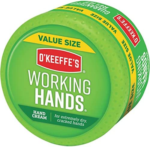 O'Keeffe's Working Hands Hand Cream Value Size, 6.8 ounce Jar, (Pack of one)