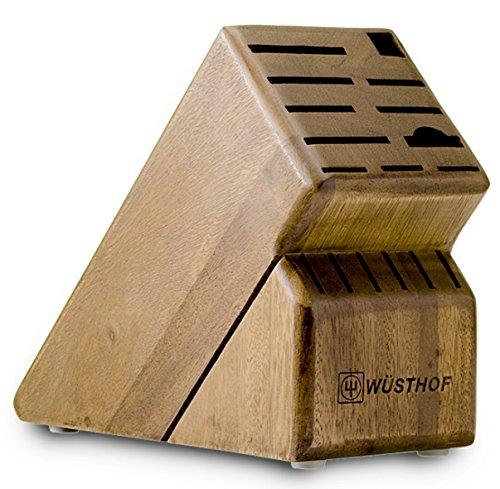 17 Slot Knife Block Block Finish: Acacia