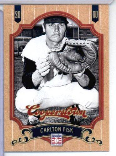 Carlton Fisk Merchandise - 2012 Panini Cooperstown Baseball Card # 45 Carlton Fisk