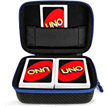 DOUBI Carrying Case for UNO Card Game - fits up to 400 cards , for UNO Dare Card Game / UNO Finding Dory Edition Card Game / UNO Card Game - Retro Edition