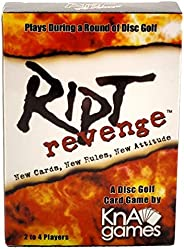 Ript Revenge Disc Golf Card Game | Fun Disc Golf Game | Plays During a Round of Disc Golf | Play for Skins or