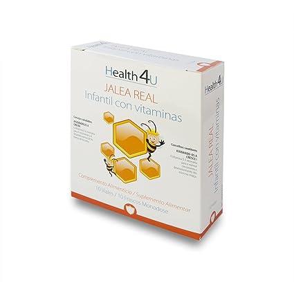 H4U Jalea Real Infantil Con Vitaminas 10 viales