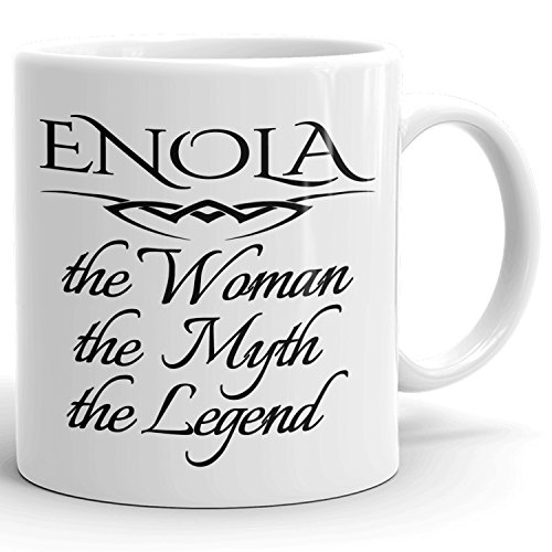 Best Personalized Womens Gift! The Woman the Myth the Legend - Coffee Mug Cup for Mom Girlfriend Wife Grandma Sister in the Morning or the Office - E Set 3
