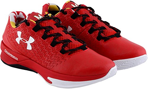 Maryland Terrapins Team-Issued Red and White Clutchfit Drive 3 Low Shoes - Size 17 - Fanatics Authentic Certified ()