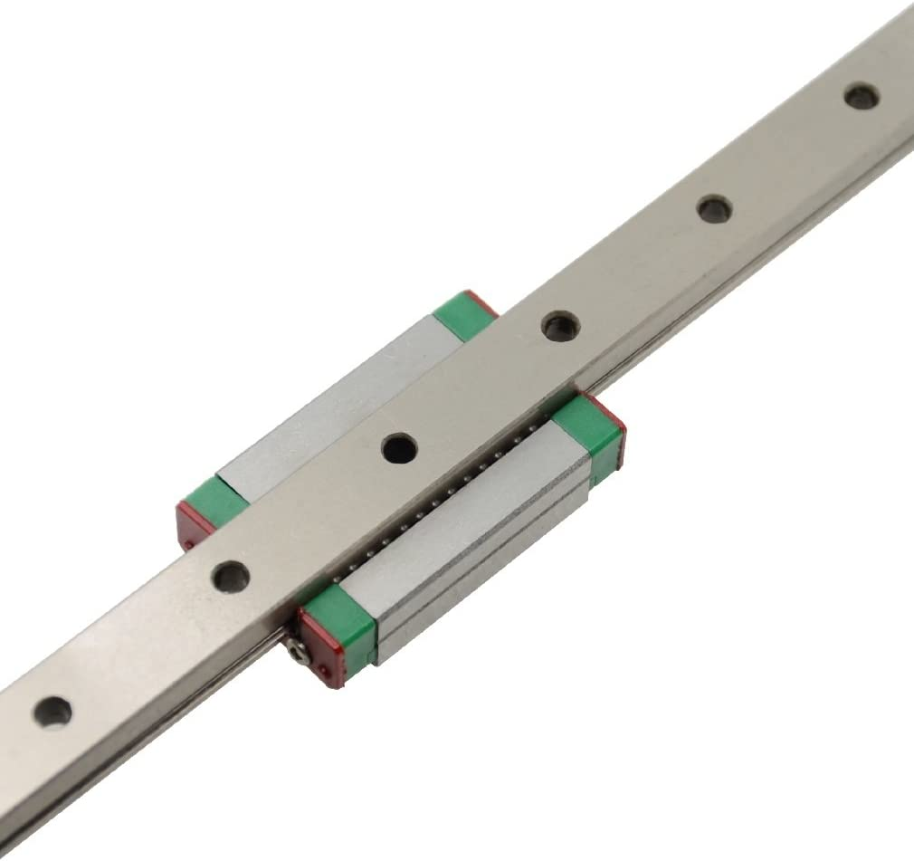 ReliaBot 500mm MGN12 Linear Rail Guide with MGN12C Carriage Block for 3D Printer and CNC Machine