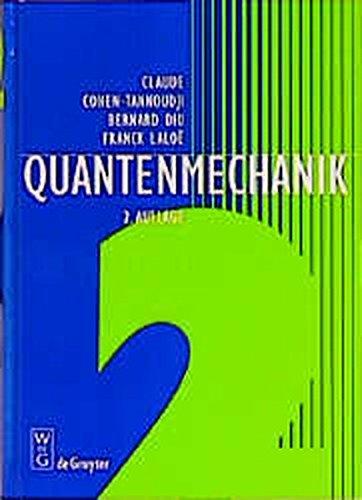 Quantenmechanik, Tl.2