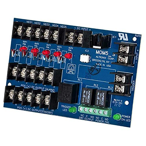 Power Dist Module, 5 Outputs PTC