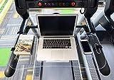 STYLEZONE Treadmill Laptop Computer Desk Setup