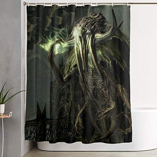 Great Old Ones In Palace Cthulhu Bathroom Fantastic Custom Decoration Polyester Fabric Mildew Resistant Shower