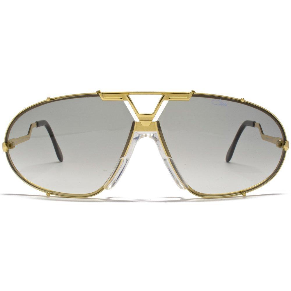 735ac20b98f1 Cazal Oval Gold Sunglasses Cazal 906 097 69 69 Crystal Grey  Amazon.co.uk   Sports   Outdoors