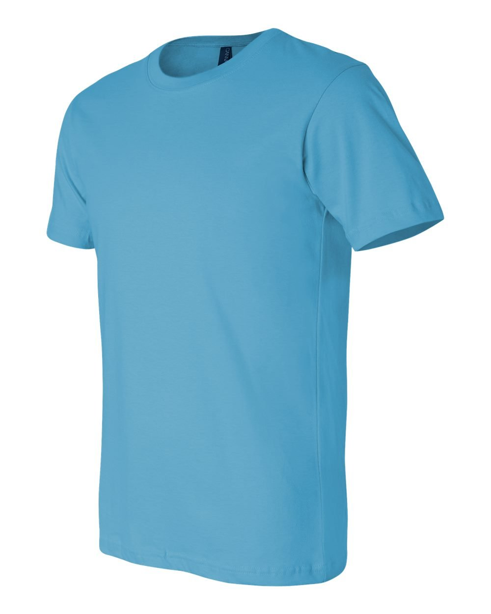 TURQUOISE 2XL Bella Canvas Unisex Jersey Short-Sleeve T-Shirt