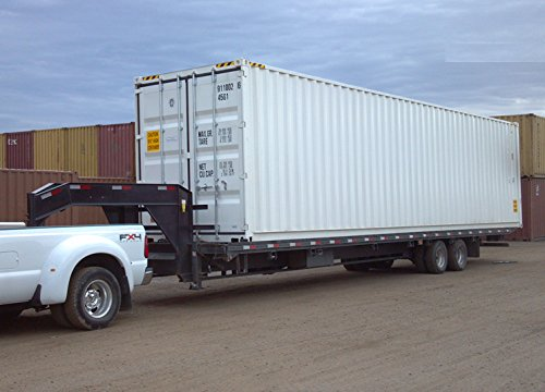 Shipping Container Trailer >> 40ft New One Trip General Purpose Steel Shipping Container Secure