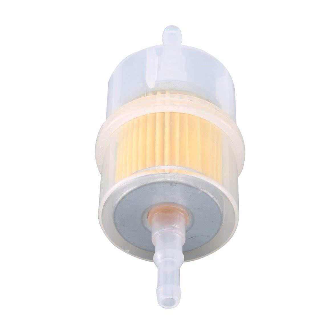 Kongqiabona 932 Inline Fuel Filtro benzina Filtro olio universale grande adatto per tubi da 6 mm 8 mm