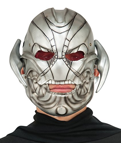 Rubie's Marvel's Villain Ultron movable Jaw Latex Mask Halloween Costume Accessory