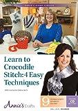 Learn to Crocodile Stitch: 4 Easy Techniques: With Instructor Debra Arch