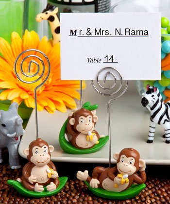 Charming-monkey-design-place-card-holder-favors