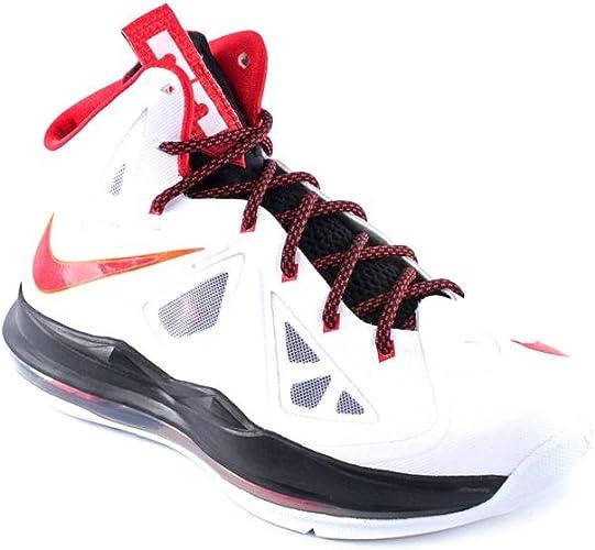 Nike Lebron X (GS) Youth Boys White