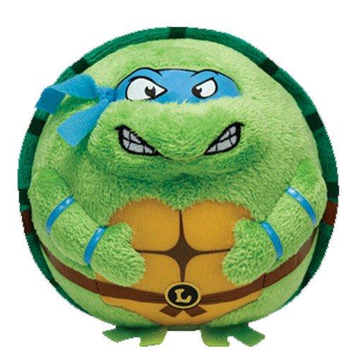 Nickelodeon Ty Beanie Ballz Leonardo Blue Mask