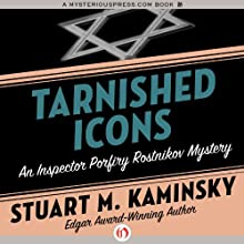Tarnished Icons Audiobook by Stuart M. Kaminsky Narrated by John McLain