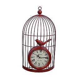 Fantastic Craft Cardinal Clock Cage