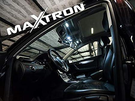 MaXtron Innenraumbeleuchtung Set f/ür Auto SLK R171 6000K Kalt Wei/ß Beleuchtung Innenlicht Komplettset