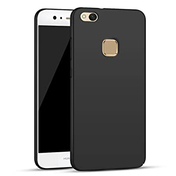 best sneakers 901b7 45885 Huawei P10 Lite Case Cover, Moonmini Slim Fit Ultra-thin Hard PC Full Body  Protection Smooth Grip...