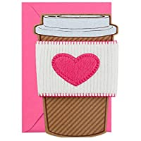 Hallmark Signature Mother's Day Card: Coffee Cup Sleeve