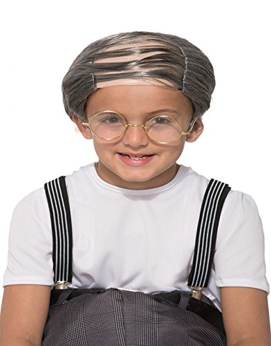 Faerynicethings Child's Uncle Bert Wig -