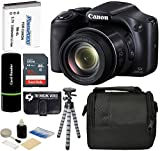 Canon PowerShot SX530 HS 16MP Super 50x Optical Zoom IS 1080p HD Video CMOS Digital Camera + Case + Spare Battery + Tripod + 32GB Deluxe Accessories Bundle Review