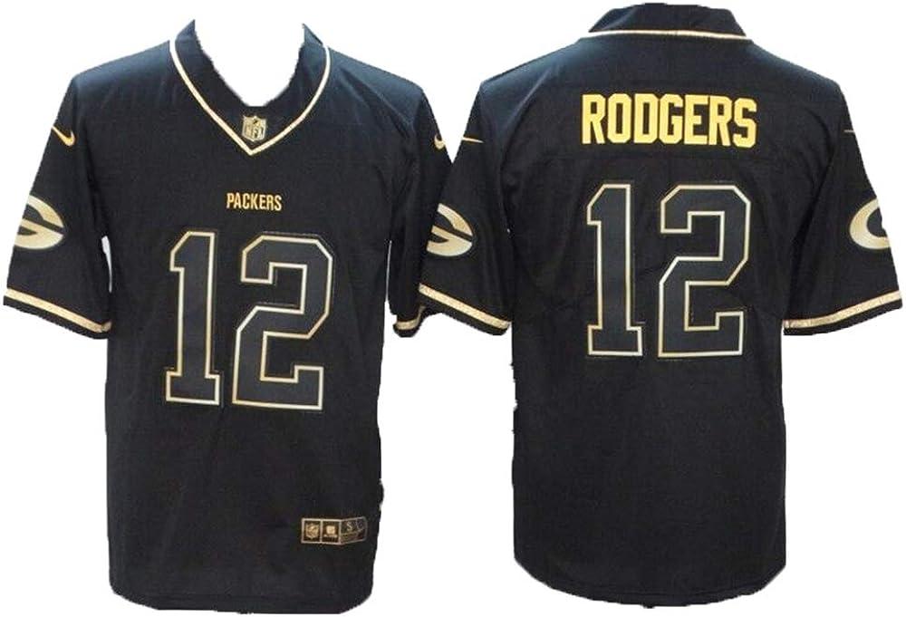 Camiseta para hombre de fútbol americano uniforme Green Bay ...