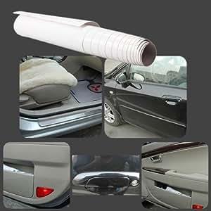 eubest universal clear car door scratch protection film sheet sticker 20 200cm. Black Bedroom Furniture Sets. Home Design Ideas