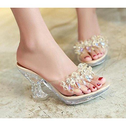 piel Casual Zapatos Negro ZHZNVX de Confort para cuña mujer Animal Gold Oro sandalias de de Primavera Verano tacón Plata Otro Zxgn1xXq