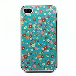 Floral Pattern Protective Hard Case for iPhone 4/4S