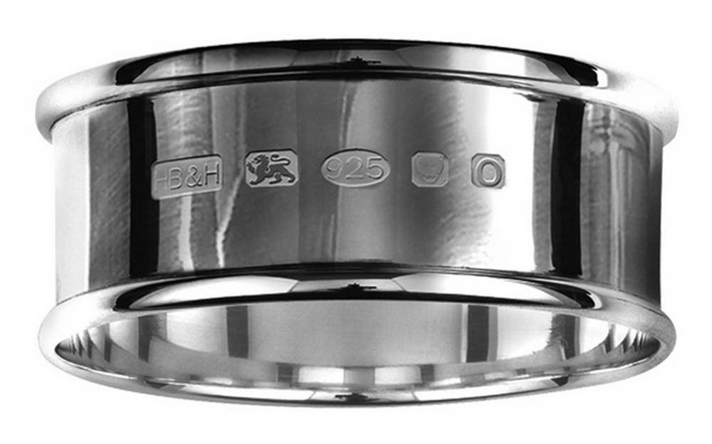 Silver Hallmark Display Napkin Ring by Orton West