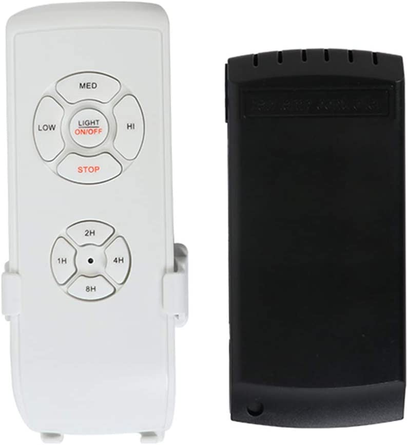 Soulitem - Kit de Herramientas para Ventilador de Techo (inalámbrico, Mando a Distancia)
