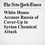 White House Accuses Russia of Cover-Up in Syrian Chemical Attack | Julie Hirschfeld Davis,Helene Cooper