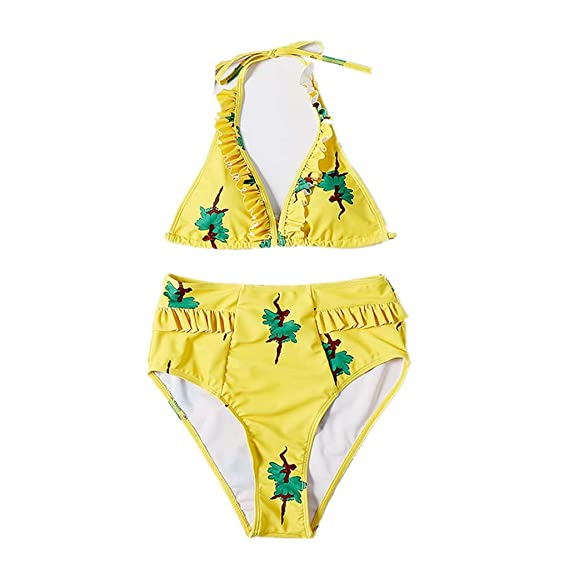 JERFER Bikini Mujer Push Up Mujeres Conjunto de Traje de ...