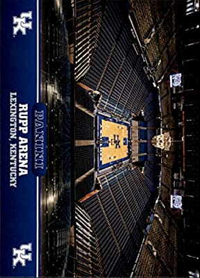 2016 Panini Kentucky #7 Basketball Court Rupp Arena
