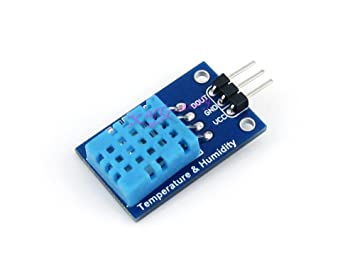 Detector de temperatura Sensor de humedad módulo DHT11 placa 0 y # x2103; ~ 50 Y # x2103; 20% ~ 95% @ XYG: Amazon.es: Electrónica