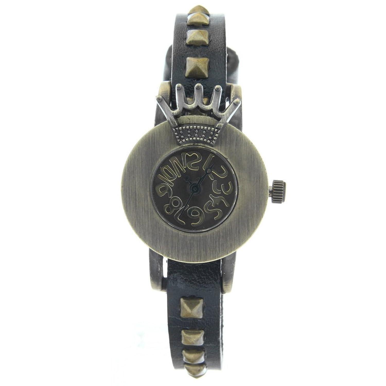 Nice Punk Black Leather Belt Quartz Mens Watch Retro Skull Clock Womens Watches Ladies Watch Sturdy Construction Watches