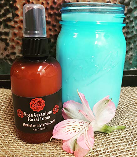 Rose Geranium Facial Toner Mist ()