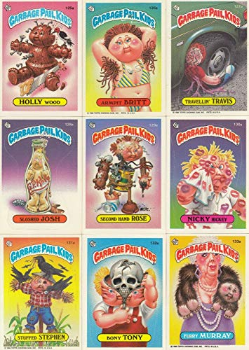 GARBAGE PAIL KIDS 4TH SERIES 1986 TOPPS COMPLETE BASE CARD SET OF 84 SF