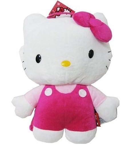 4a8e65b8a Amazon.com: SANRIO Hello Kitty Full Body 14-Inch Plush Backpack:  affordableshoppingcom