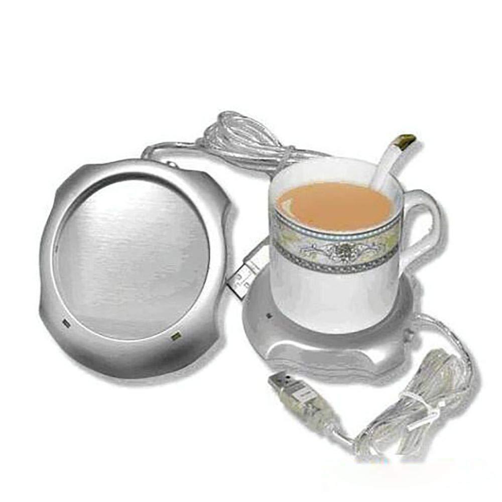 Mug Warmer, Desktop Heated Coffee & Tea - Multipurpose Heating Pad for Candle & Wax Warmer by ESCAOR (Image #3)