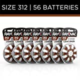 Best 312 Hearing Aid Batteries - Rayovac Hearing Aid Batteries Size 312, 56-Pack Review
